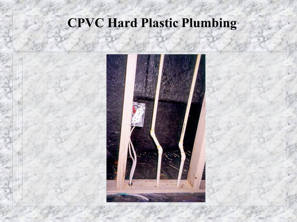 CPVC Hard Plastic Plumbing