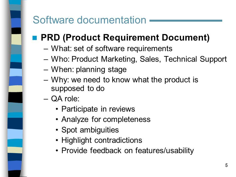 6 PRD (example)