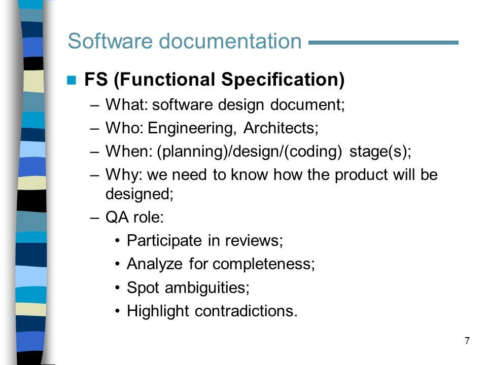 18 Test documentation Test Case (example)