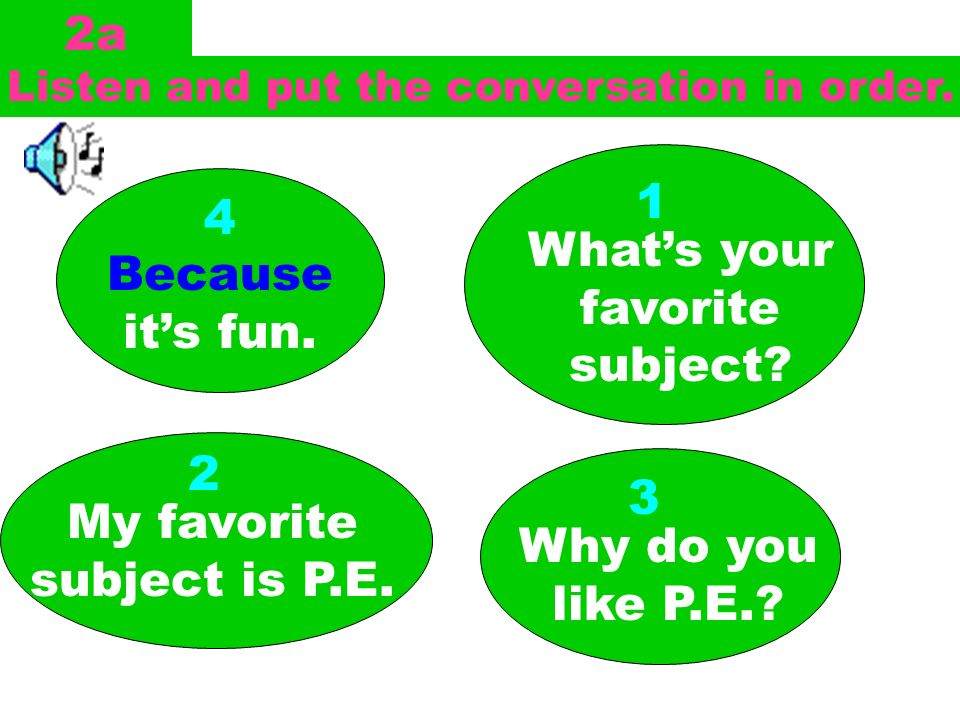 Match the words with the pictures. 1a 1.P.E. ________ 2.Art ________ 3.science ____ 4.music ______ 5.math ______ 6.Chinese ____ c d b e a f