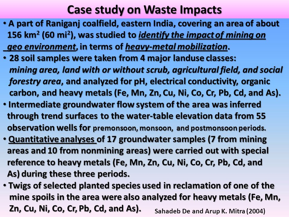 Sahadeb De and Arup K. Mitra (2004) A part of Raniganj coalfield, eastern India, covering an area of about A part of Raniganj coalfield, eastern India