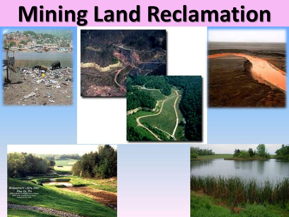 Mining Land Reclamation