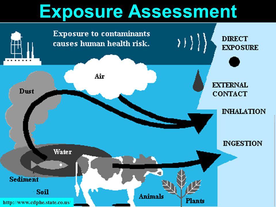 Exposure Assessment http://www.cdphe.state.co.us/