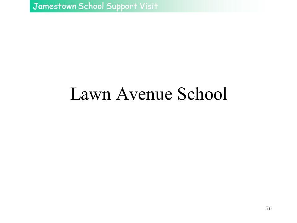 Jamestown School Support Visit 76 Lawn Avenue School