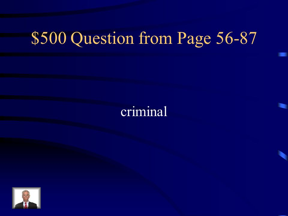 $400 Answer from Page 56-87 Crying in a soft, high, complaining voice
