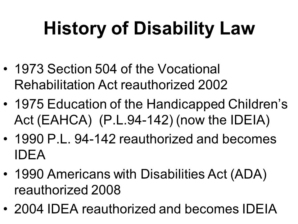 Section 504 of the Rehabilitation Act C.F.R.