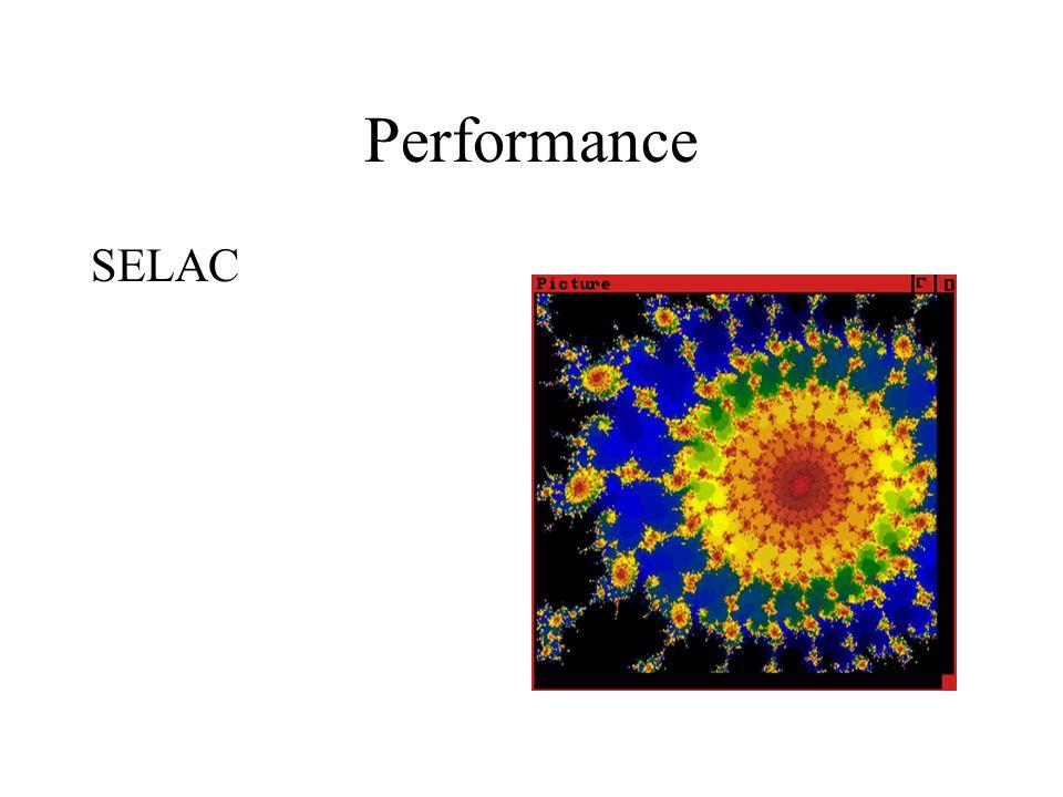 Performance SELAC