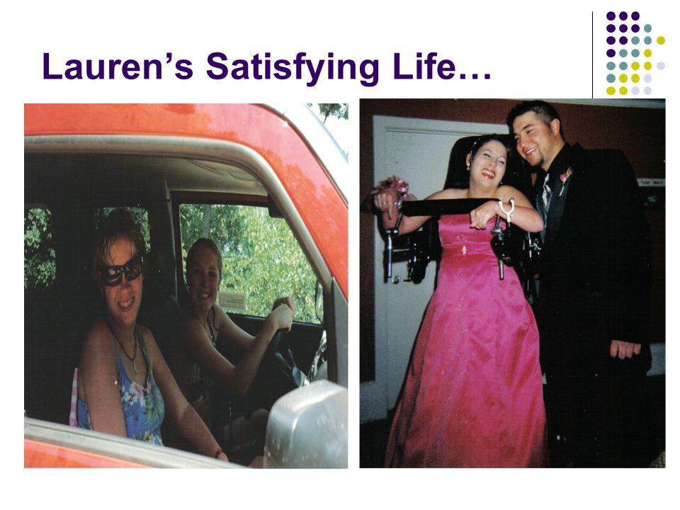 Laurens Satisfying Life…