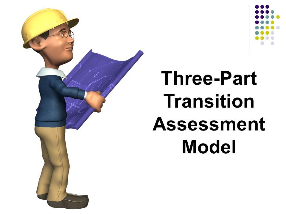Three-Part Transition Assessment Model