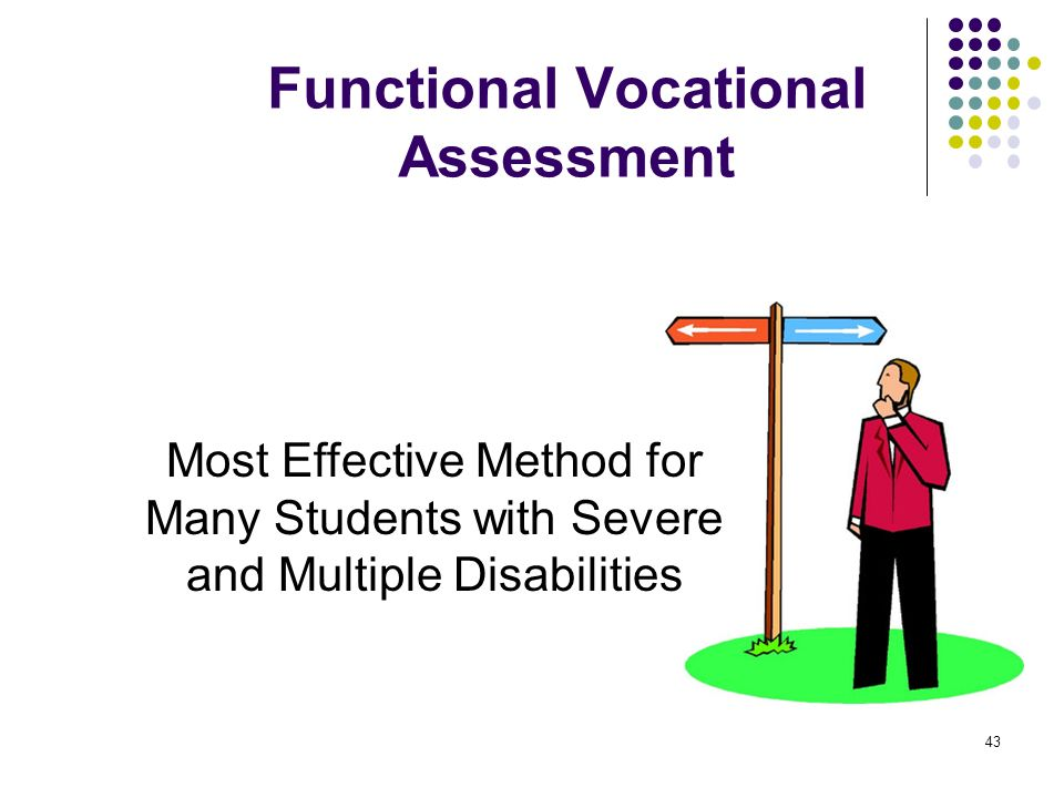 43 Most Effective Method for Many Students with Severe and Multiple Disabilities Functional Vocational Assessment