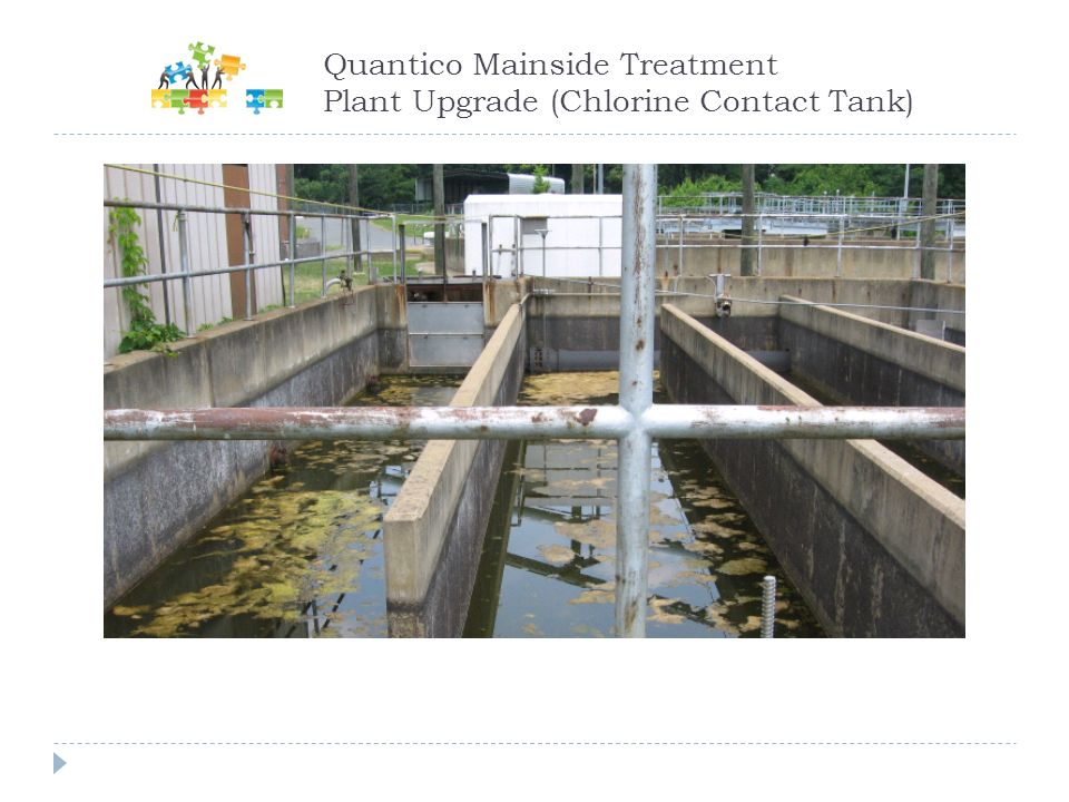 Quantico Mainside Treatment Plant Upgrade (Chlorine Contact Tank)