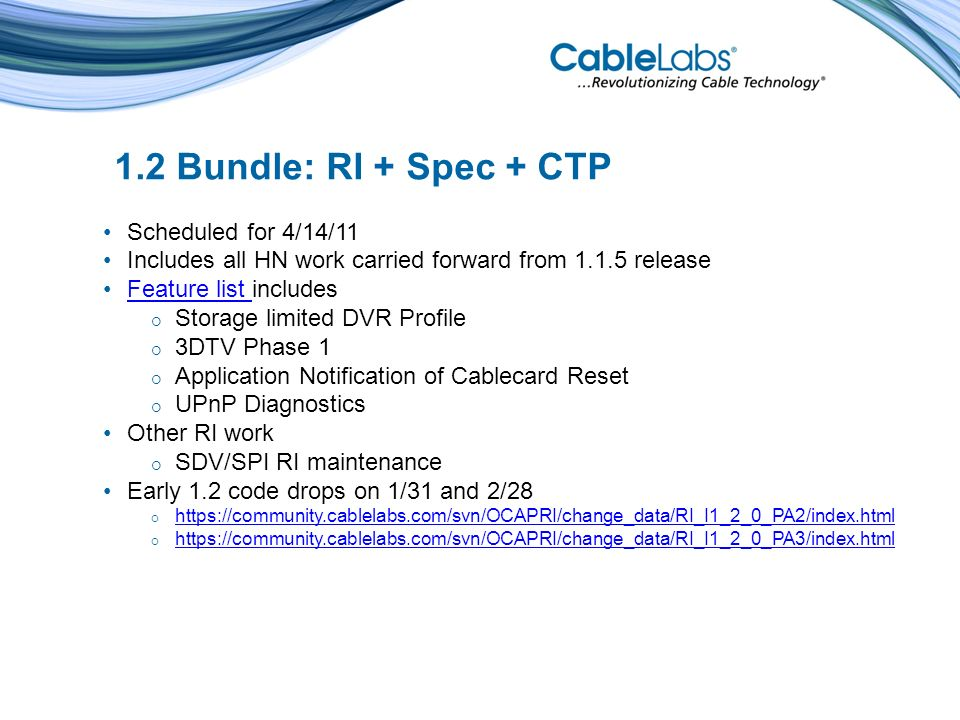 CableCARD Reset CableCARD reset may happen for many reasons Host may respond to a reset by rebooting When reset without a reboot applications will lose communication (SAS sessions) Other CableCARD activities affected by reset include CA sessions, XAIT/EAS monitoring etc.