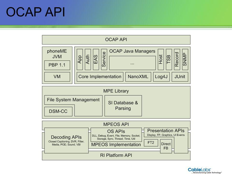41 OCAP API