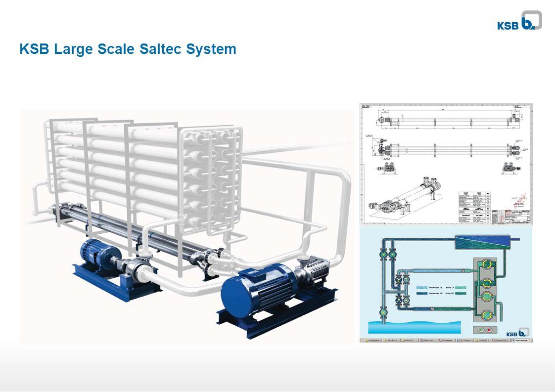 KSB Large Scale Saltec System