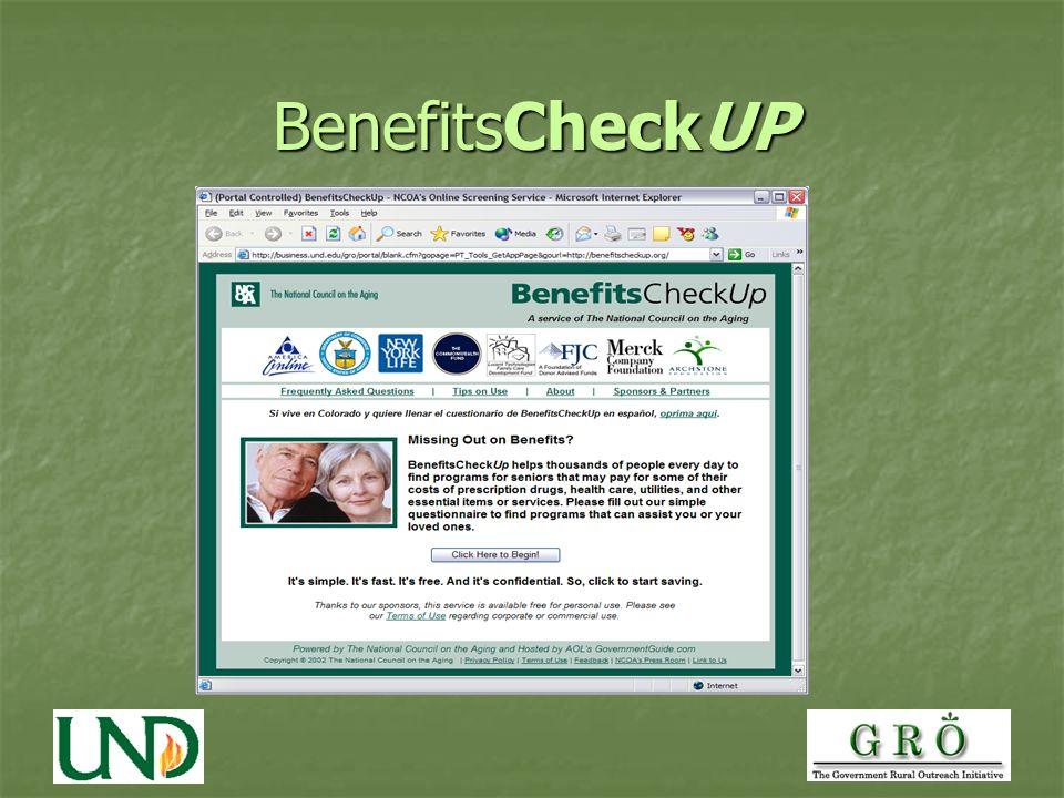 BenefitsCheckUP