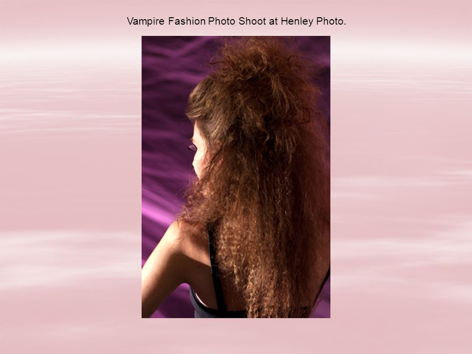 Vampire Fashion Photo Shoot at Henley Photo.