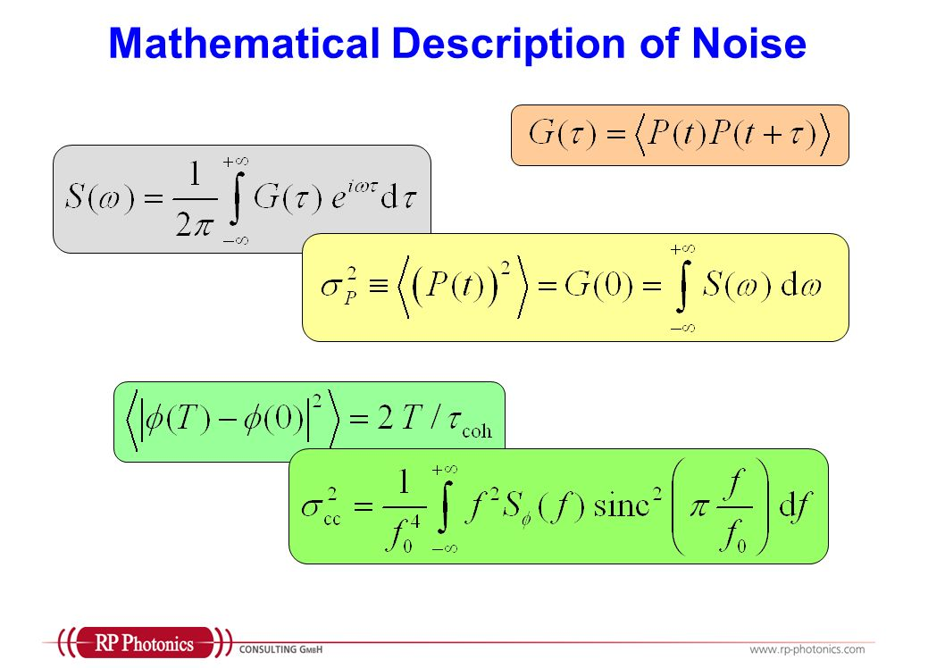 Noise Modeling Models can greatly help to identify limiting factors optimize the design before trying in the lab verify by comparison with measurements whether the expectable performance is reached Analytical and/or numerical techniques are required, depending on the circumstances Noise modeling requires detailed know-how on mathematical issues, numerical techniques, physical effects, and technical possibilities, and extensive general experience of working with models.