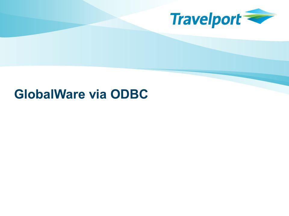 GlobalWare via ODBC