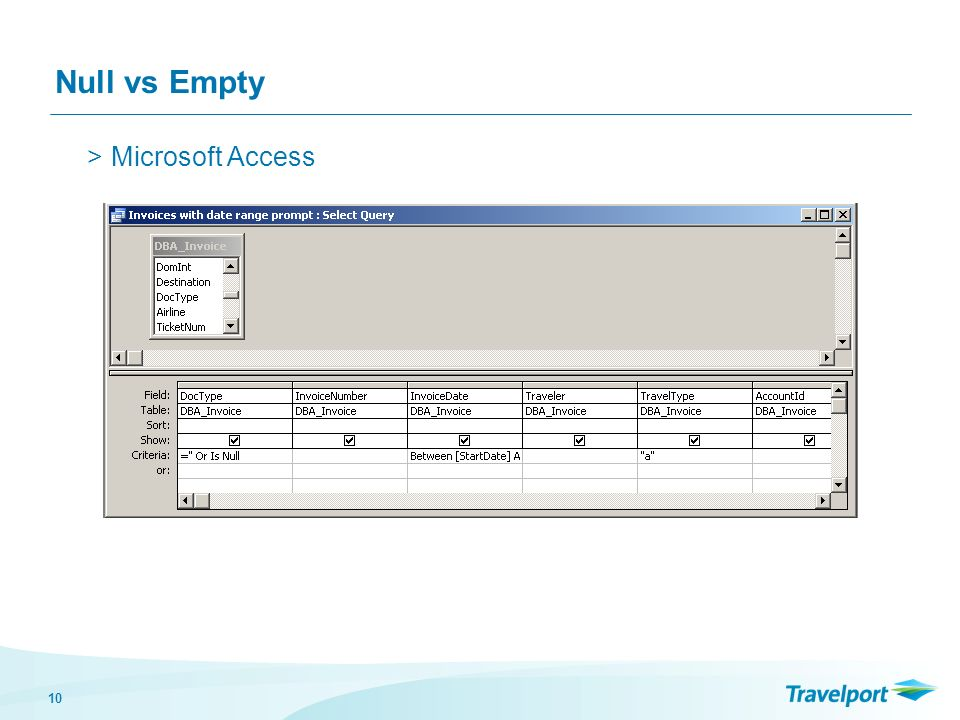 10 Null vs Empty >Microsoft Access