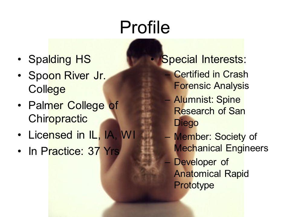Profile Spalding HS Spoon River Jr.