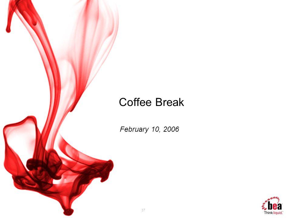 37 Coffee Break February 10, 2006