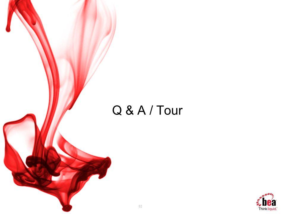 52 Q & A / Tour