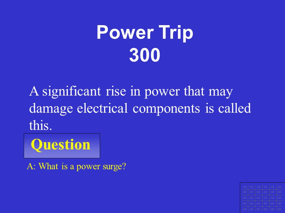 IT Ess I v.4x Chapter 1 Question 100 200 300 400 500 A: What is a Brownout.