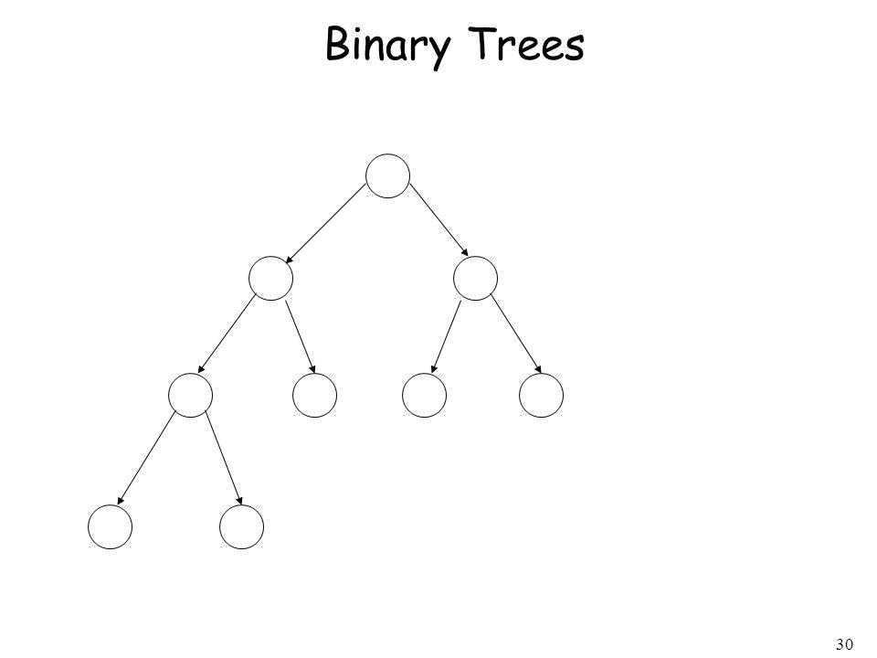 30 Binary Trees