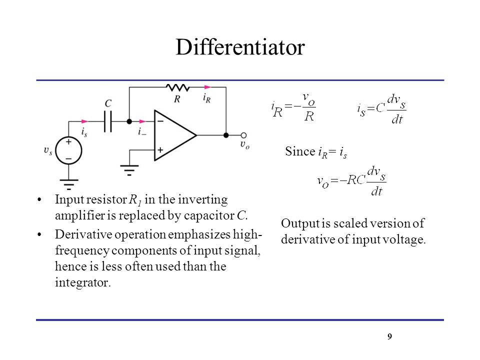 DC Error Sources: Input-Bias and Offset Currents - Bias Current Compensation Bias current compensation resistor R B is used in series with non-inverting input.