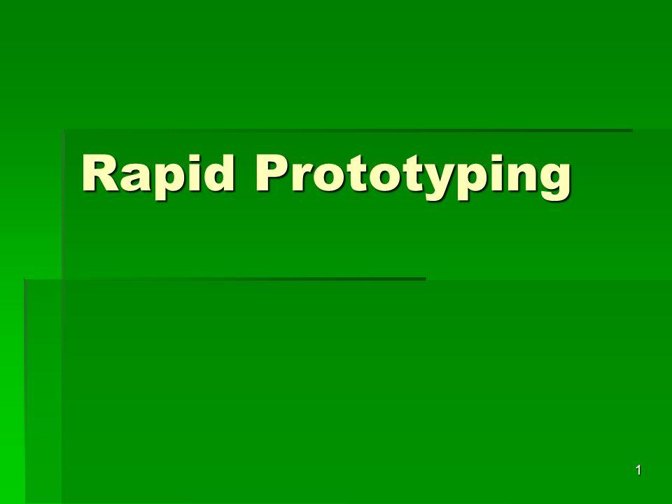 Rapid Prototyping 1