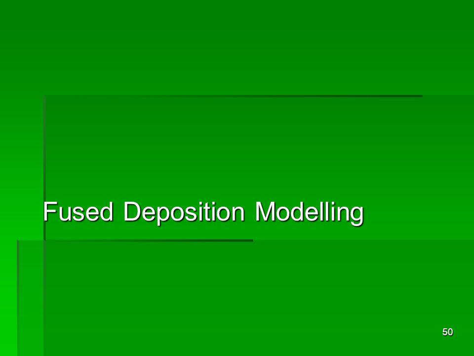 Fused Deposition Modelling 50