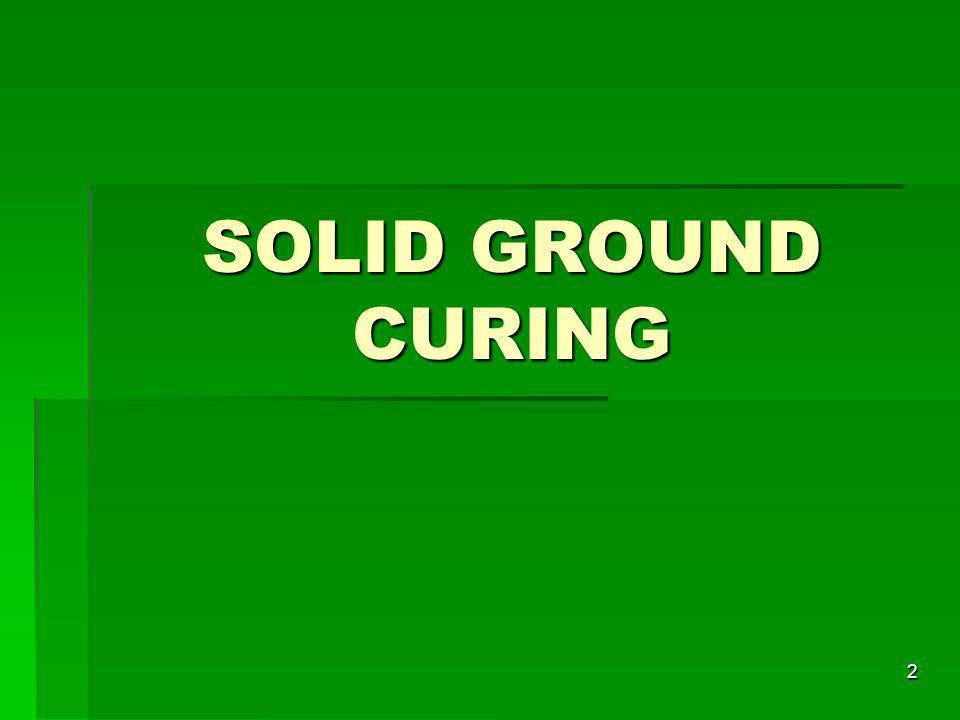 SOLID GROUND CURING 2