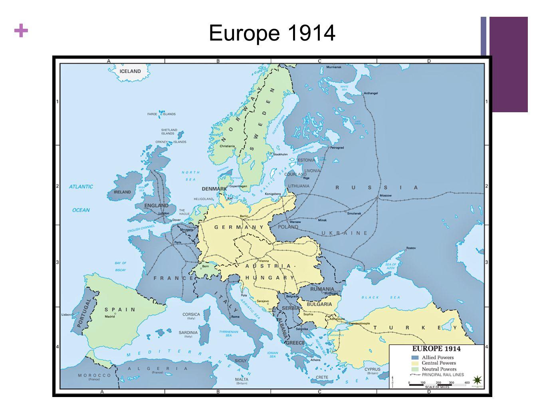+ Europe 1914