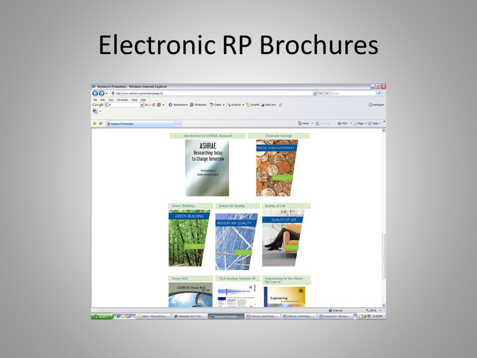 Electronic RP Brochures