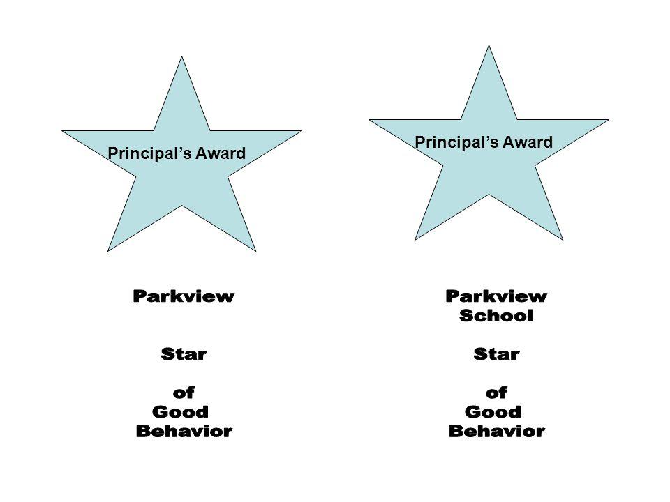 Principals Award