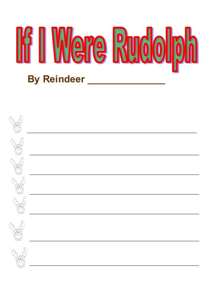 By Reindeer ______________