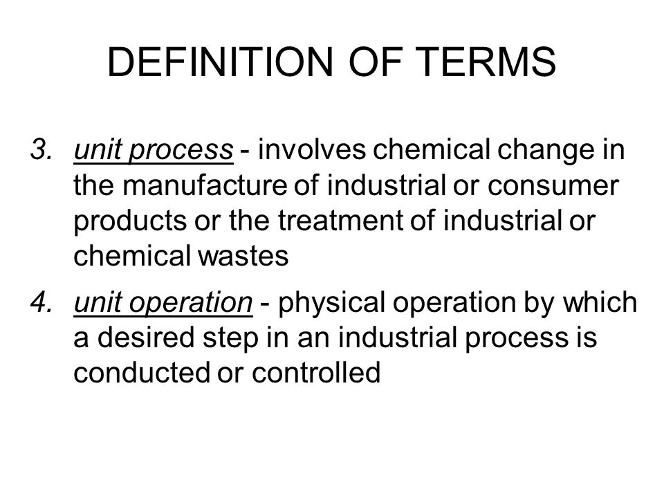 5.professional chemical engineering subjects ChE Thermodynamics ChE Calculations Physical and Chemical Principles Industrial Processes Momentum, Heat & Mass Transfer Industrial Waste Management & Control Process Equipment Design & Plant Design Biochemical Engineering & Bio-Engineering DEFINITION OF TERMS