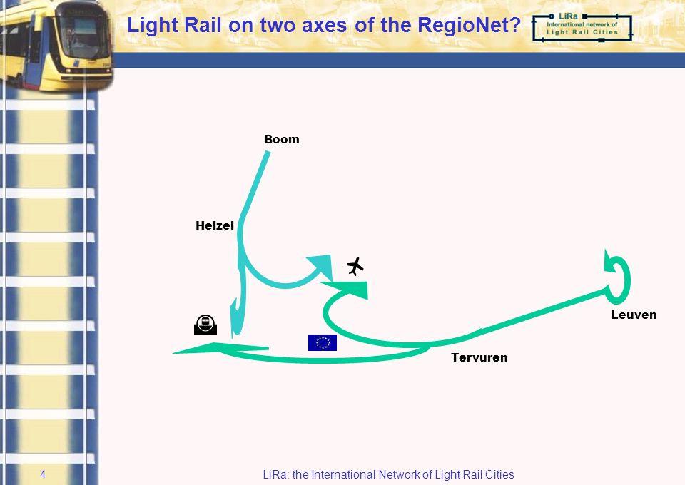 LiRa: the International Network of Light Rail Cities3 RegioNet Brabant-Brussel
