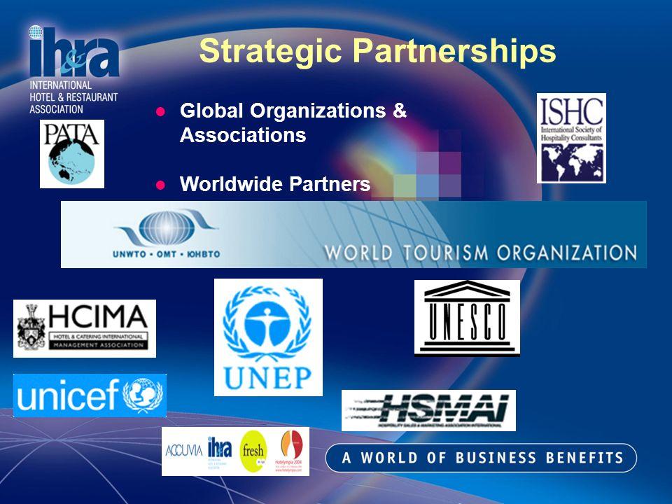 Strategic Partnerships Global Organizations & Associations Worldwide Partners