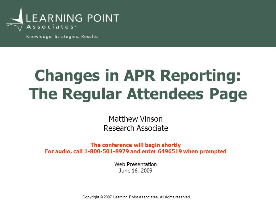 www.learningpt.org 2 Changes in PPICS Data Reporting: Presentation Outline What is the Regular Attendees page.