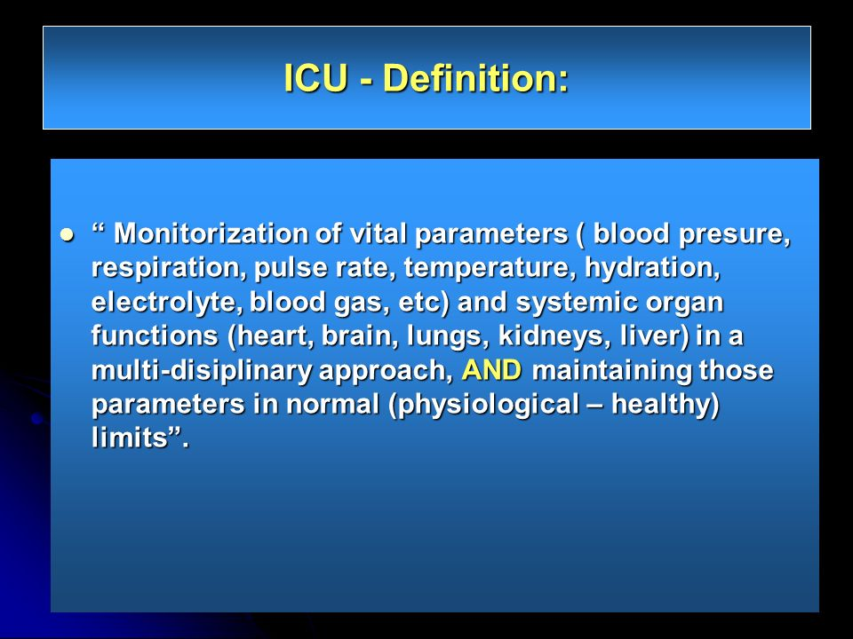 Ideal CCU Environment Well-trained staff (Physician, nurse, technician) Well-trained staff (Physician, nurse, technician) Advanced ECG and hemodyanamic monitorization equipment (bed-side and central and print-out) Advanced ECG and hemodyanamic monitorization equipment (bed-side and central and print-out) Hemodynamic support devices (IABP, temporary pace-maker) Hemodynamic support devices (IABP, temporary pace-maker) Mechanical ventilation devices Mechanical ventilation devices Bed-side laboratory examination (Biomarkers, CBC, BUN, Crea, Electrolyte, etc) Bed-side laboratory examination (Biomarkers, CBC, BUN, Crea, Electrolyte, etc) Portable Imaging (X-Ray and Echocardiograpy) Portable Imaging (X-Ray and Echocardiograpy) Effective CPR organization Effective CPR organization