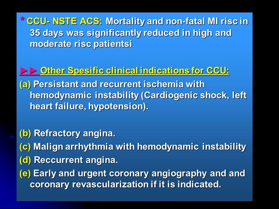 CCU: Hemodynamic Monitorization and Supportive Therapies 1.