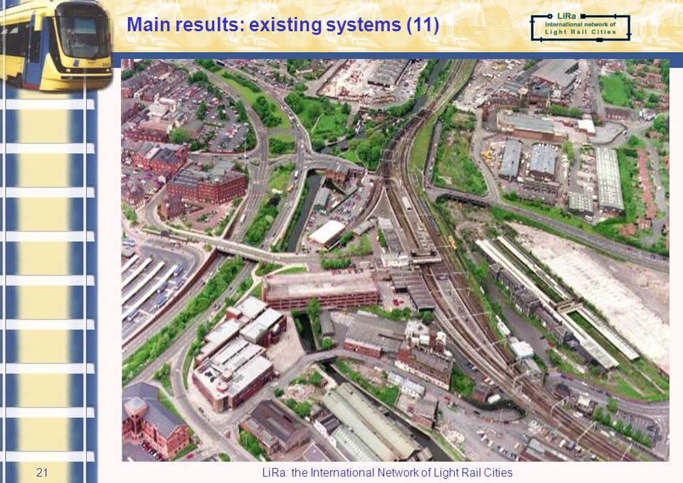 LiRa: the International Network of Light Rail Cities20 Wolverhampton City Council / Centro: CBridging a physical distance with the right travel inform