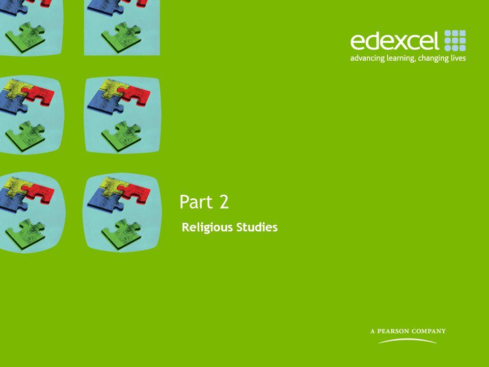 Religious Studies Part 2