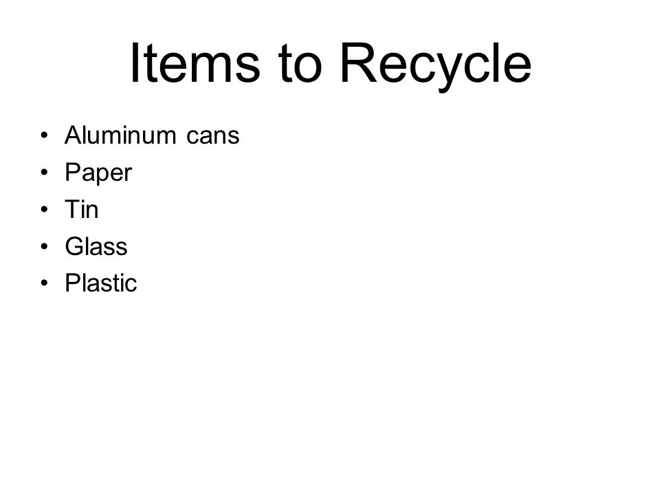 Ways to Reduce Use the front and back of your paper.