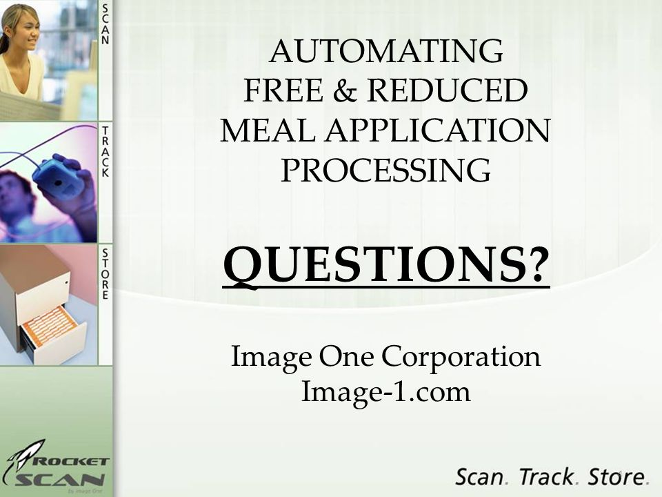 4 AUTOMATING FREE & REDUCED MEAL APPLICATION PROCESSING QUESTIONS.