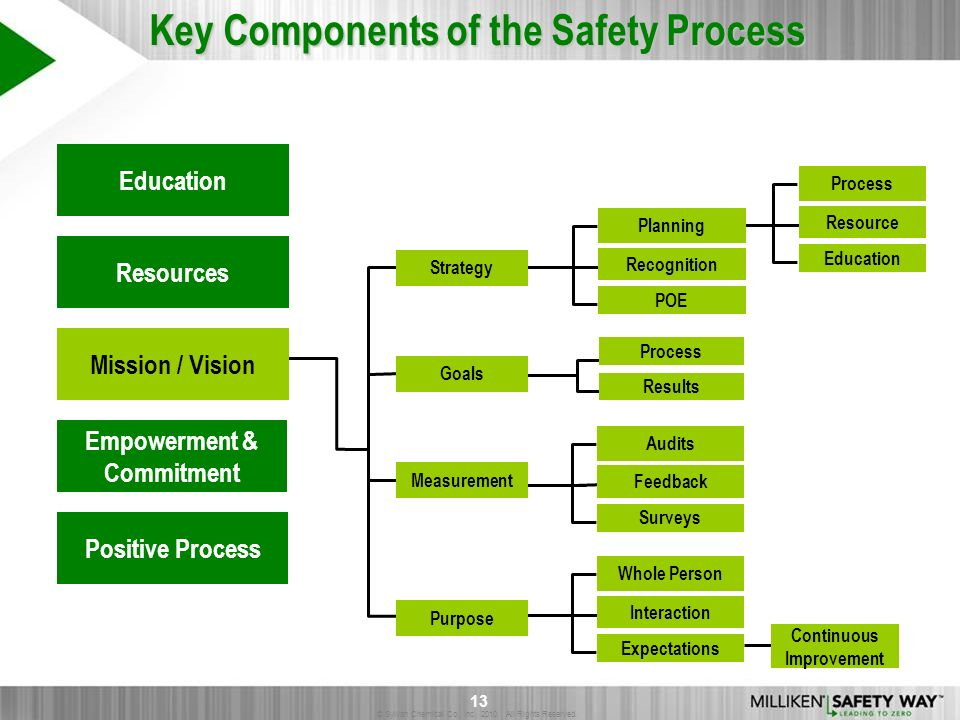 © Sylvan Chemical Co., Inc. 2010. All Rights Reserved. 13 Education Resources Empowerment & Commitment Positive Process Mission / Vision Strategy Goal
