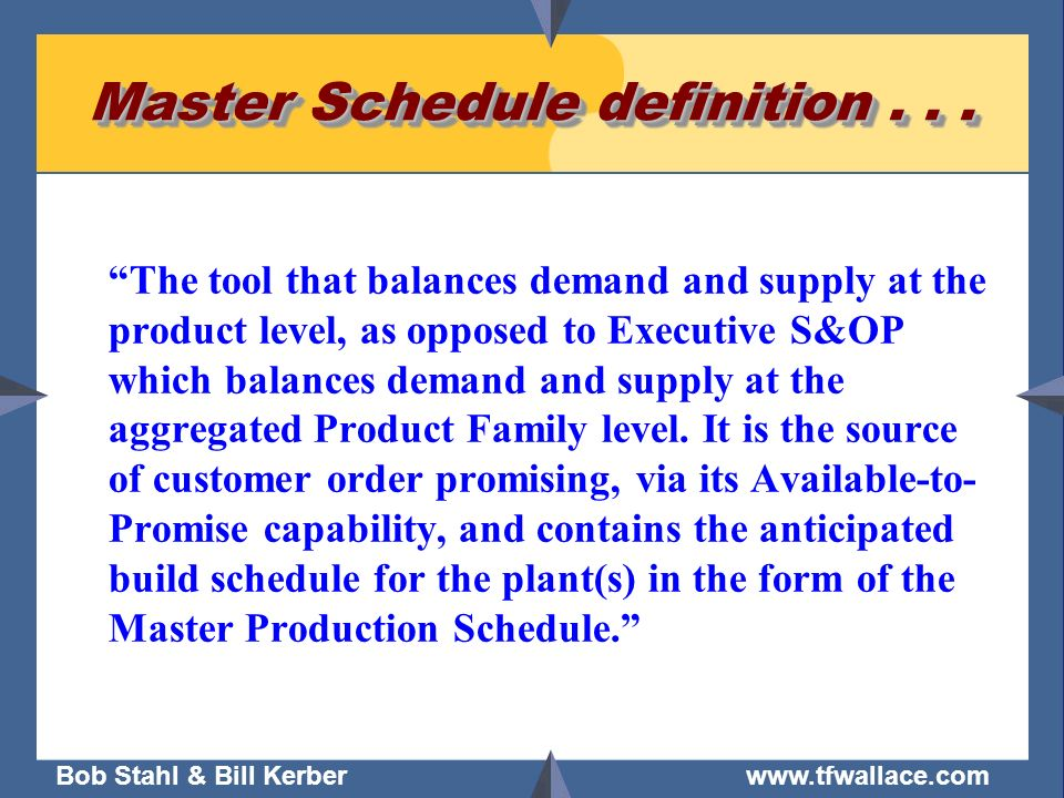 demand master product thesis variability