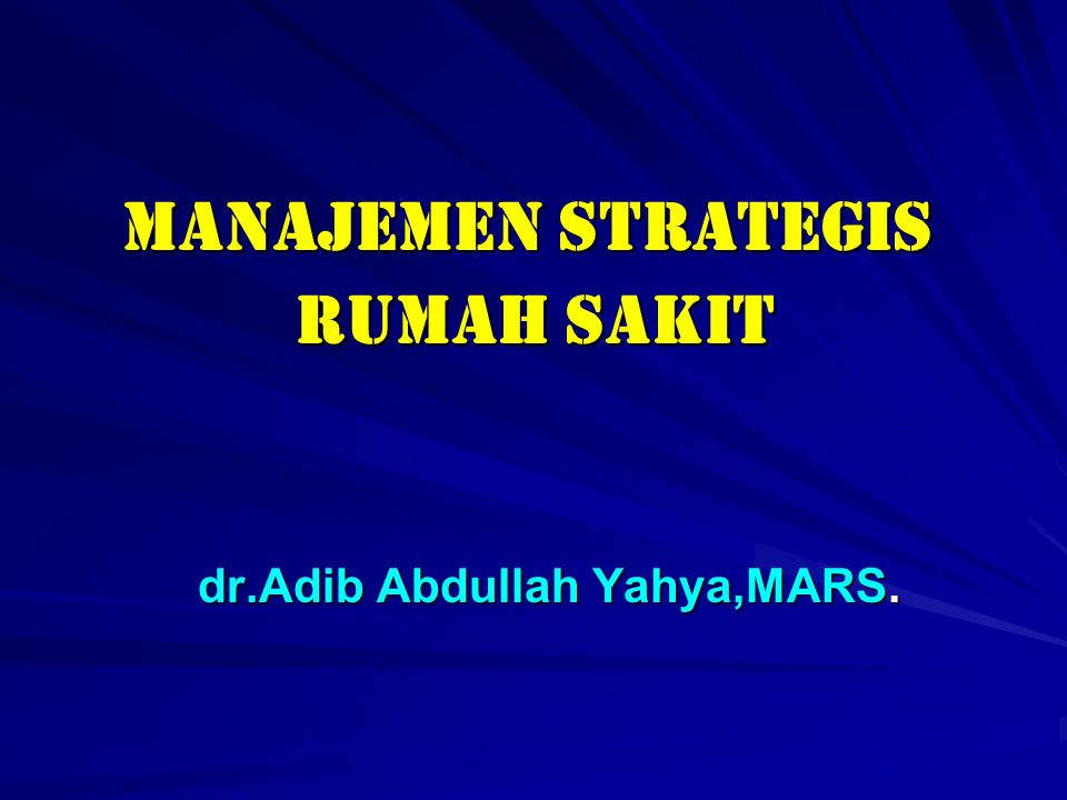 STRATEGIC STAKEHOLDER MANAGEMENT