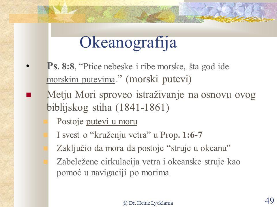 @ Dr. Heinz Lycklama 49 Okeanografija Ps.
